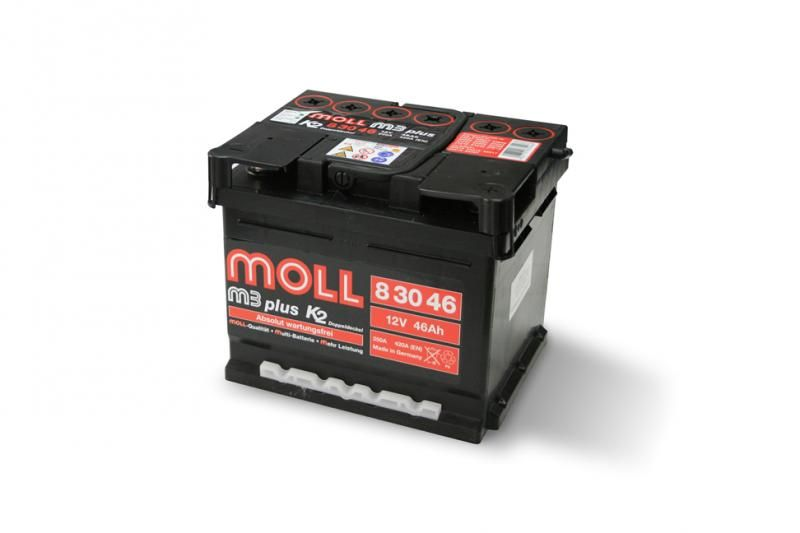 Moll M3 Plus K2 Double Lid 50 Ah акумулатори Autospot