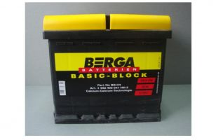 Berga Basic Block 52 Ah