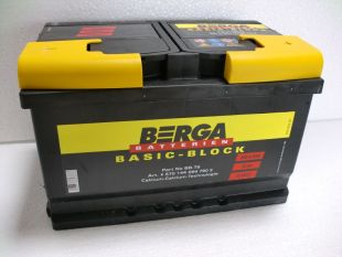 Berga Basic Block 70 Ah