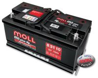 MOLL M3 plus K2 double lid 110 Ah