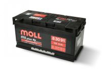 MOLL M3 plus K2 double lid 91 Ah