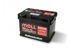 MOLL M3 plus K2 double lid 56 Ah
