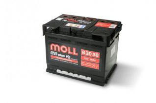 MOLL M3 plus K2 double lid 58 Ah