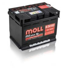 MOLL M3 plus K2 double lid 62 Ah