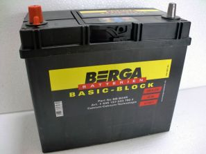 Berga Basic Block 45 Ah L+