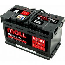 MOLL M3 plus K2 double lid 85 Ah
