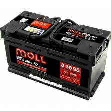 MOLL M3 plus K2 double lid 100 Ah