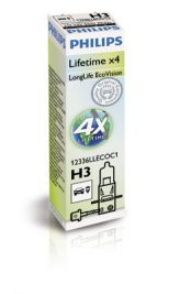 H3 крушка Philips Long Life EcoVision къси дълги