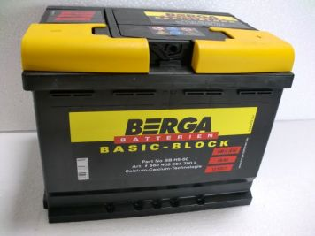 Berga Basic Block 60 Ah