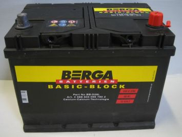 Berga Basic Block 68 Ah