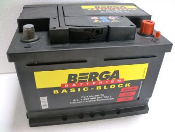 Berga Basic Block 53 Ah