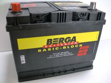 Berga Basic Block 68 Ah L+