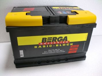 Berga Basic Block 70 Ah L+