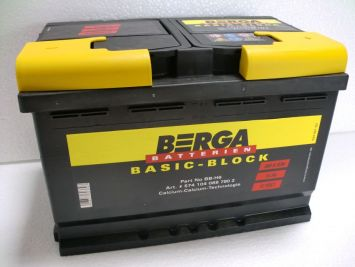 Berga Basic Block 74 Ah